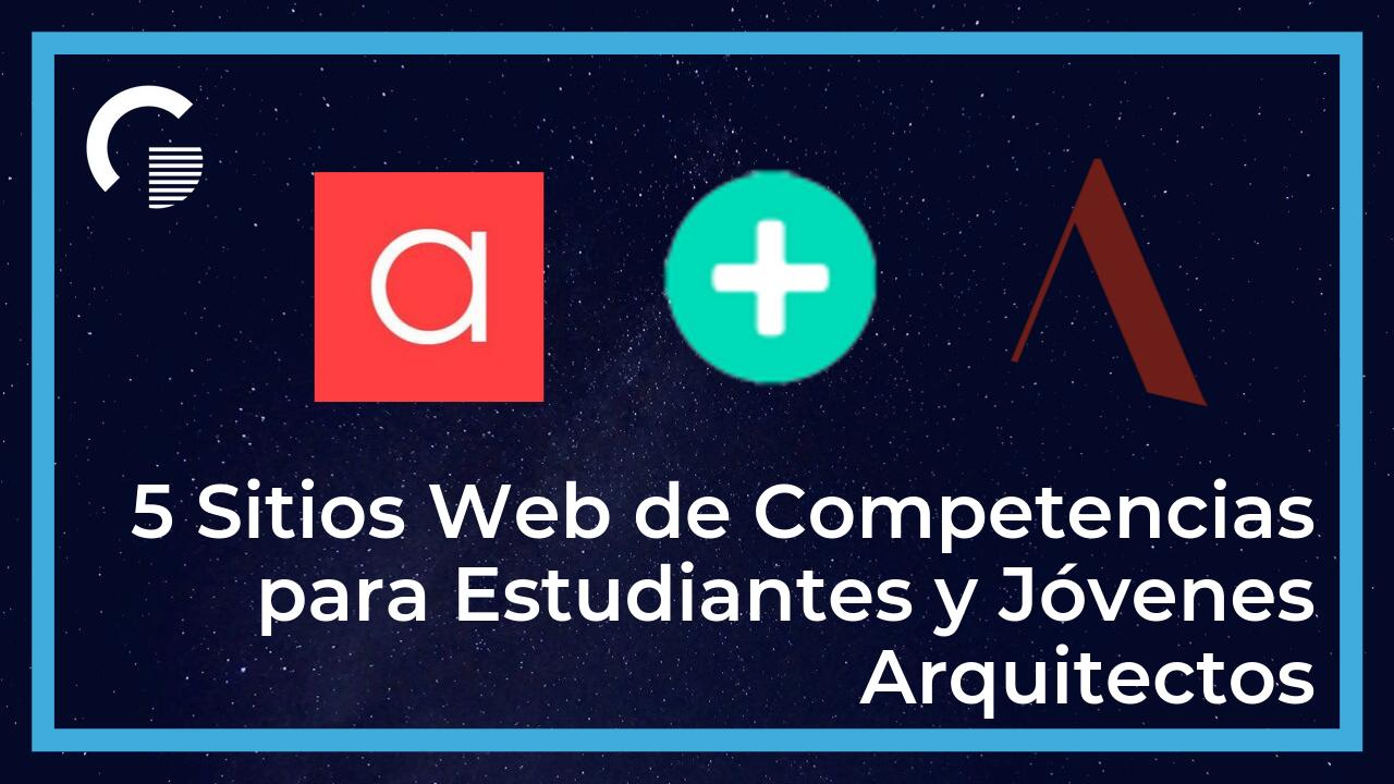 Sitios web de competencias de arquitectura