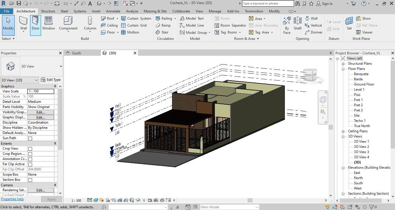 Software usado en la arquitectura
