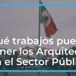 ¿Qué trabajos pueden tener los Arquitectos en el Sector Público?